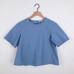 Uniqlo Womens Blue shirt Size S